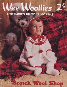 vintage baby layette knitting patterns