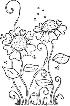 Tildas Heartflowers Will Be Fun To Color