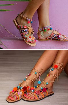 THE FASHION FILES: BOHO CHIC GLADIATOR SANDALS   THE STYLE FILES