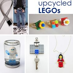 Things to make with legos. Upcycle legos #lego #craft