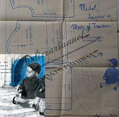 ❤ Patron original poupée Michel MODES ET TRAVAUX, Novembre 1961 ❤ : 4,99 EUR