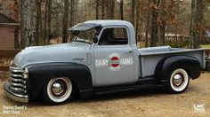 After: Charles Beard's 1949 Chevy. #lmctruck #chevy #chevytrucks #transformationtuesday