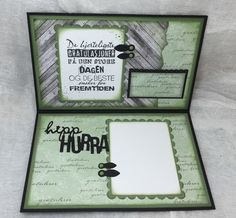 papirdesign-blogg Card Sketches, Holidays And Events, Cardmaking, Albums, Scrapbook, Mini, Frame, Cards, Ideas