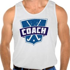 Field Hockey Coach Tank Top Tank Tops