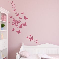 Butterfly Wall Decals Beautiful - http://misssinergy.com/butterfly-wall-decals-beautiful/ : #WallDecalIdeas Butterfly wall decals – These decorative products give freedom to the decor of your home, a loose visual and freer. Floral impress and delight, since the adhesives trees are perfect to brighten the house at any time of year, the butterflies bring beauty to every corner. One of the most...