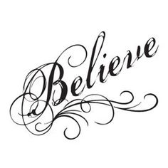 Believe In Yourself Temporary Tattoo | Tainted Tats