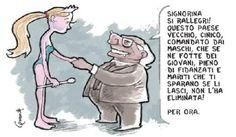 """Per """"il Misfatto"""", inserto satirico de il Il Fatto Quotidiano 12/9/10"""