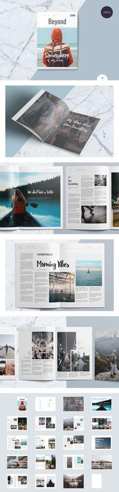 Magazine Bundle by Ally & Co. on @creativemarket