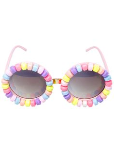 02291e90e11d Candyland Sunglasses. Circle Lens GlassesPastel FashionKawaii FashionCute  GlassesKawaii ClothesFestival WearCandylandChocolate FactoryEyewear