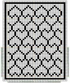 Eady and cool fair isles pattern – Artofit Crochet Motifs, Crochet Diagram, Crochet Stitches Patterns, Crochet Chart, Cross Stitch Patterns, Crochet Puntada Bobble, Bobble Stitch Crochet, Fillet Crochet, Cross Stitch Heart