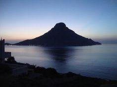 View of Telendos island Greek Islands, More Photos, Greece, Mountains, Nature, Greek Isles, Greece Country, Naturaleza, Nature Illustration