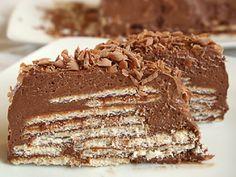 Νοστιμιές της Γιαγιάς: Γλυκό ψυγείου με σοκολάτα και μπισκότα