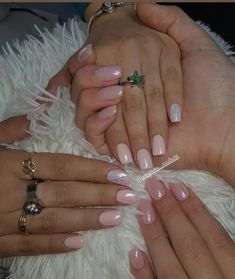 54 Nails: Pink Nail Art Designs Trend for Year 2019: pink nails; squoval nails; glitter nails; matte nails; ombre nails; acrylic nails; #nails; #nailart; #nailpolish; #acrylicnails; #naildesigns; #pinknails; #nailsart; #squovalnails #AcrylicNailsForSummer Pink Nail Art, Pink Nails, Glitter Nails, Square Oval Nails, Round Nails, New Year's Nails, Toe Nails, Flare Nails, Finger
