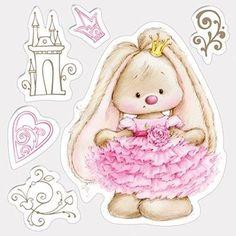 Motiv-Stempel-Bunny-Princess-Haeschen-als-Prinzessin-Hase-ScrapBerrys-SCB4902005