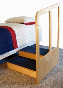 The Bed Step #eldercare #aging #caregiving