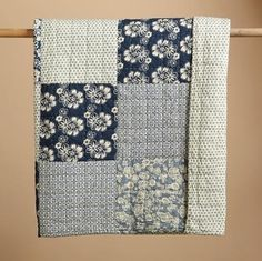 True Blues Patchwork Quilt