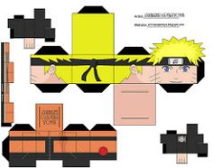 papercraft cubee cubeecraft NARUTO SHIPPUDEN ANIME PAPER TOY   Flickr - Photo Sharing!