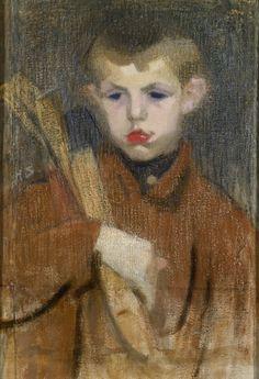 Helene Schjerfbeck – Finnish) - el leñador / the woodcutter Helene Schjerfbeck, Jr Art, Paintings I Love, Oil Paintings, Gravure, Sculpture, Girl Reading, Helsinki, Impressionist