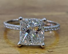 This item is unavailable Engagement Rings Princess, Engagement Ring Shapes, Diamond Engagement Rings, Halo Engagement, Large Diamond Rings, Heart Shaped Diamond Ring, 3 Carat Diamond, Raw Diamond, Herkimer Diamond