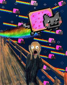 Nyan nyan by theRushireCat