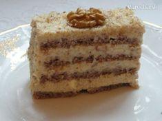 Orechové rezy bez múky (fotorecept) - Recept Dairy Free Recipes, Gluten Free, Vanilla Cake, Tiramisu, Free Food, Cheesecake, Cupcake, Sweets, Baking