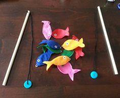 Magnetisch visspel voor peuters