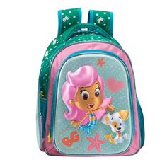 MOCHILA BACKPACK BUBBLE GUPPIES 8583