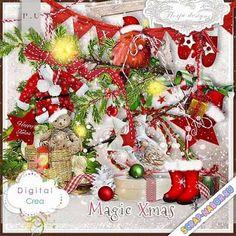 Скрап-наборы для фотошопа - Зимние и новогодние - Скрап-наборы, скрапы скачать бесплатно