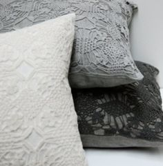 lace cushion covers!