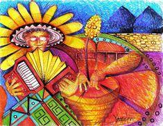 Merengue Florecido Painting, Fresh Water, Barranquilla, Legends, Meringue, Art, Painting Art, Paintings, Draw