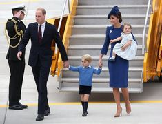 The Royal Family Has Arrived in Canada—Wearing Perfectly Coordinated Outfits