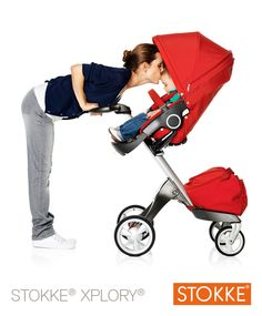 The ultimate connection stroller. @STOKKE® beautiful, awesome stroller!  #BeautifulBabyShower