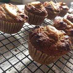 Gluten, Nut & Dairy Free Apple Cinnamon Muffins