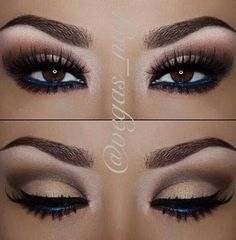 I love the idea of using blue eye liner to intensify your eyes