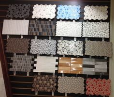 Ceramic wall accent tiles