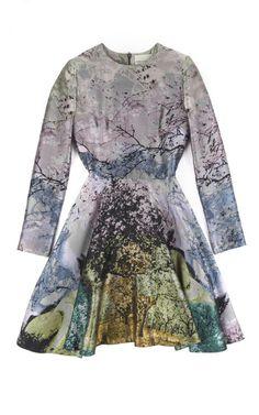 BY MARY KATRANTZOU  SEE DETAILS HERE:Dijon Babelona Long Sleeve Dress