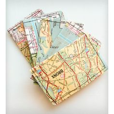 Heathered Vintage New York Map Wallet ($18) ❤ liked on Polyvore featuring bags, wallets, travel wallet, vintage bag, vintage travel bag, vintage wallet and slim wallet