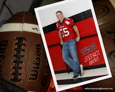 Football themed Sr. Picture