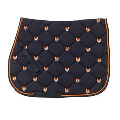 Fox All Purpose Pad available at HorseLoverZ, the place for horse products and equipment. Fun and fashionable embroidered quilted saddle pads in great colors. Riding Hats, Horse Riding, Riding Helmets, Riding Gear, Equestrian Boots, Equestrian Outfits, Equestrian Fashion, Equestrian Style, Pony Saddle