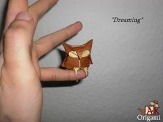 Origami Dreaming owl (Alexander Kurth) Tutorial - YouTube