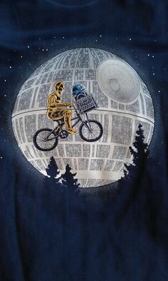Star Wars + E.T. Perfect :3