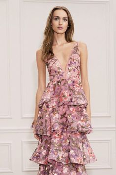Marchesa Notte Spring 2018 Ready-to-Wear Fashion Show Collection