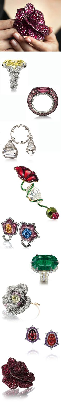 JAR Jewels exhibit currently at The Met, Manhattan. Amazing...ultimate luxe bling. PLease, santa???