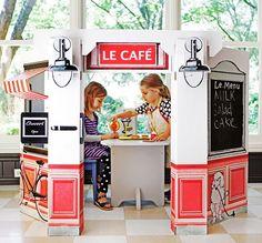 Kids Cardboard French Cafe