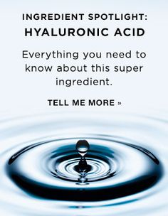 Learn more about hyaluronic acid – a skin care ingredient must-have that's sweeping the beauty industry. Skin Care Regimen, Skin Care Tips, Skincare Blog, Skincare Routine, Face Skin Care, Skin Care Treatments, Best Face Products, Avon Products, Facial Care