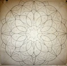 quilt pattern - would be great on an 8-point star.  Could adapt this for a  6-point star as well.