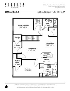 1 bedroom, 1 bath 875 sf apartment at springs at live oak in san