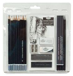 Royal & Langnickel RART-200 Essentials Sketching Pencil Set