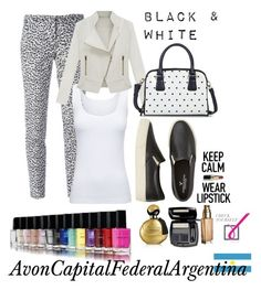 """Black & White"" by avon-capital-federal-argentina ❤ liked on Polyvore featuring moda, MICHAEL Michael Kors, American Eagle Outfitters, Boody, Avon i Merona"