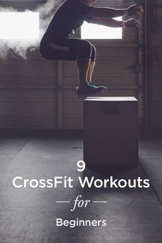 9 Crossfit workouts for beginners! Try out these 9 moves to see why this workout trend is so popular among Crossfit enthusiasts. Because CrossFit moves can be modified to fit nearly any fitness level, it's said to be appropriate for just about everyo Crossfit Moves, Crossfit Workouts For Beginners, Crossfit Humor, Extreme Workouts, Easy Workouts, At Home Workouts, Crossfit Trainers, Extreme Fitness, Cardio Workouts